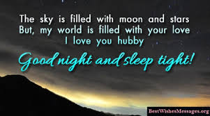 40 Latest Good Night Text Messages Quotes Wishes For Husband Him Impressive Good Night Love Quotes
