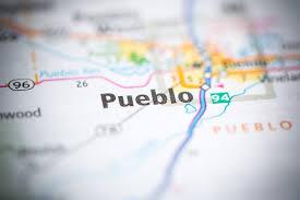 map of pueblo colorado