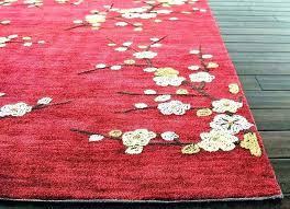 red round rugs blue wayfair