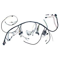 mustang underdash wiring harness with gauges 3 speed heater 1965 65 mustang engine wiring harness at Under Dash Wiring Harness
