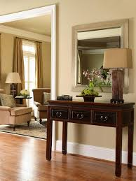 furniture for a foyer. foyer table with lamp and mirror furniture for a r