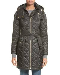 Lyst - Burberry Baughton Quilted Coat in Black & Burberry | Black Baughton Quilted Coat | Lyst Adamdwight.com