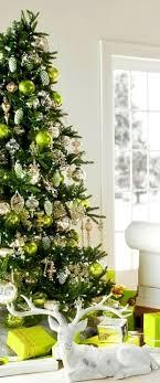 Christmas tree decoration ideas ToniKami ck e Hs #Christmas lime  green silver gold