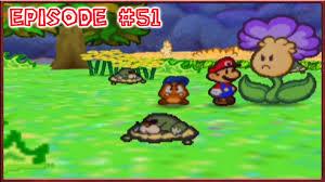 Flower Fields Paper Mario Paper Mario Flower Fields Petunias Pest Problem Episode 51