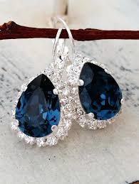 navy blue chandelier earrings navy blue crystal chandelier for stylish property navy blue chandelier earrings decor