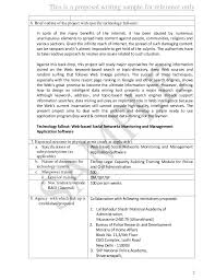 How To Develop A Research Proposal Stunning Proposal Sample 44