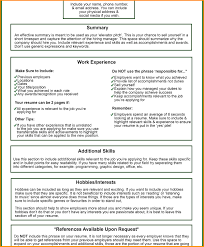 Things To Include On A Resume Menlo Pioneers