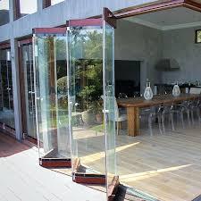 bi fold glass doors we frameless bifold cost throughout designs 38