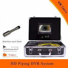 <b>Pipeline System</b> Sewer Inspection Camera DVR HD 1100TVL 7 Inch ...