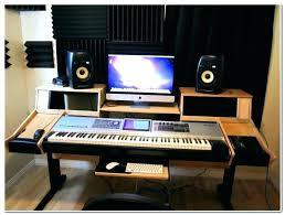 desk angelica homemade studio desk producer build architecture co intended for prepare 7 twin loft