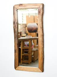 wood framed mirrors. Interior: Long Wooden Mirror New Creatively Christy DIY Reclaimed Wood Framed Love This Pertaining To Mirrors