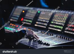 lighting technician. Lighting Technician. MOSCOW-6 OCTOBER,2016:Professional Concert Technician Control The