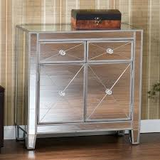 accent chest with doors southern enterprises mirage mirrored cabinet accent chest with glass doors