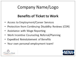 employment reviews company what can ticket to work do for you company name logo participation