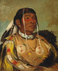 george catlin painting sha co pay the six chief of the