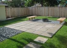 modern patio pavers. Wonderful Modern Patio Makeover From The Learner Observer Intended Modern Pavers R