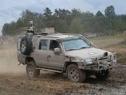 Award Winner Built Meng Model 1/35 Armed Toyota Hilux Pickup + ...