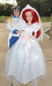Small Picture Eric Ariel 11 Wedding Doll Set