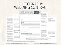 Wedding Photography Contract Template Bonsai Bonsai