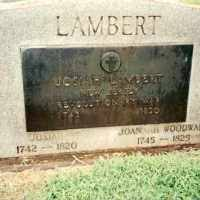 Josiah Lambert (1742–1820) • FamilySearch
