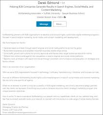 Create Resume From Linkedin Profile 10 Marketers Who Nailed Their Linkedin Profile Linkedin Marketing Blog