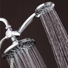 aqua 7 premium high pressure 3 way rainfall shower combo shower heads