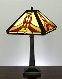 mission table lamp antique lamps dale tiffany floor made in usa within mission table lamps