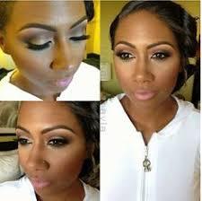 bridal glam insipiration look perfect make up for deep skin tone dark skin brown skin