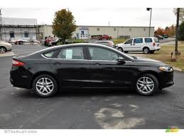 Tuxedo Black Metallic  Ford Fusion SE Exterior Photo - Ford fusion exterior colors