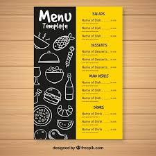 Restaurant Menus Layout Restaurant Menu Layout Ideas Unique Food Menu Template