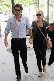 Kate winslet was spotted in nyc during a busy day of filming. Kate Winslet S Looking Loved Up With New Man In Madrid