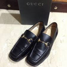authentic 1953 gucci horsebit leather loafers vintage luxury on carou