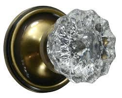 glass door knobs antique door knobs