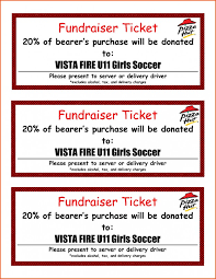 Fundraiser Ticket Template Free Download Extraordinary Fundraiser Tickets Template Free Unique Event Ticket Template