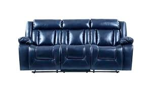 lazy boy couch and loveseat couches sofa blue leather la z reclining console bed