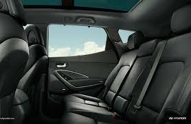 2018 hyundai santa fe sport rear passenger seats