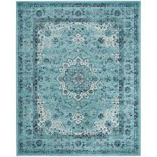 safavieh evoke light blue 8 ft x 10 ft area rug