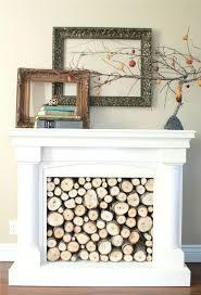 fake chimney decoration faux fireplace mantel