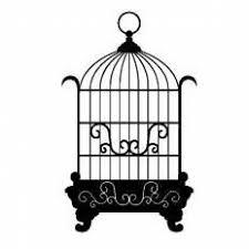 鳥かごシルエット イラストの無料ダウンロードサイトシルエットac