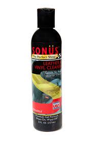 sonus leather cleaner 8 oz bottle