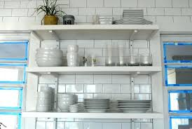 wall mounted kitchen shelves white ceramic bowl wooden stained chair kitchen shelving units metal chrome shelf