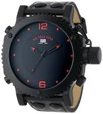 polo watch u s polo assn classic men s us4023 watch black leather band