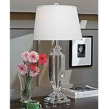 regina andrew crystal tall urn table lamp 30h at candelabra 522