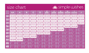 Simple Wishes Pumping Bra Size Chart Simple Wishes Hands Free Pumping Bustier
