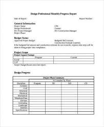 Project Progress Report Sample 9 Monthly Status Report Examples Pdf Examples