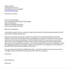 How To End Cover Letter Ow Good Way Closing Salutation Examples