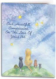 Sympathy Card Pet Loss Sympathy Cards Show Compassion For The Loss Of A Pet Smartpractice