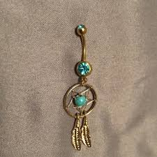 Dream Catcher Belly Button Rings 100% off Jewelry Dream catcher belly button ring from Taylor's 97