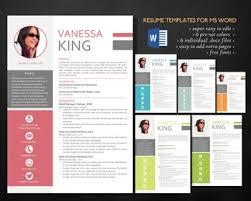 Resume Modern Te Modern Style 2 In 1 Word Resume By Inkpower Teachers Pay Teachers