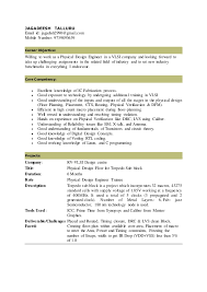 88 Templates Vlsi Engineer Resume With Format Resume